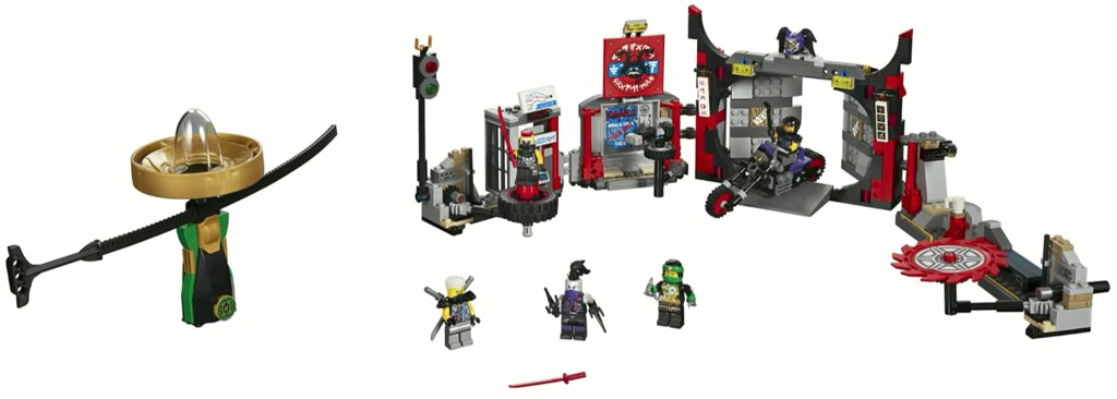 70640 - Sons of Garmadon Underground