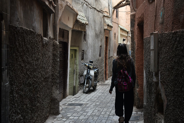 Narrow Medina Alleys