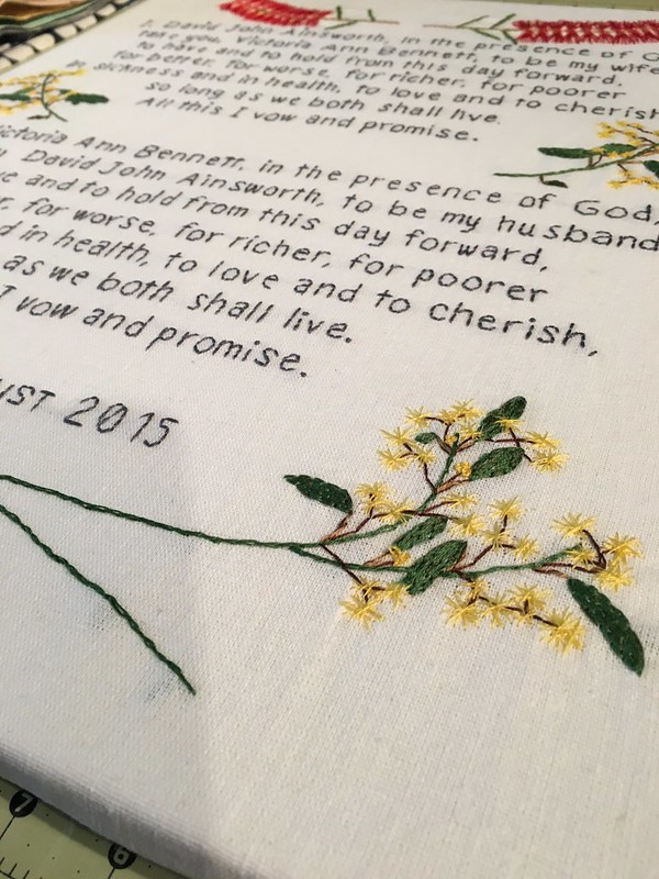 Custom Wedding Vows - Australian Custom Order