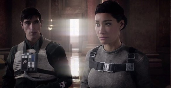 Star Wars Battlefront 2 - Leia and Iden