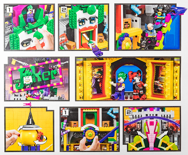 REVIEW LEGO 70922 The Joker Manor (The LEGO Batman Movie) play features