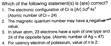 NEET Chemistry Chapter Wise Mock Test - Atomic Structure - CBSE Tuts