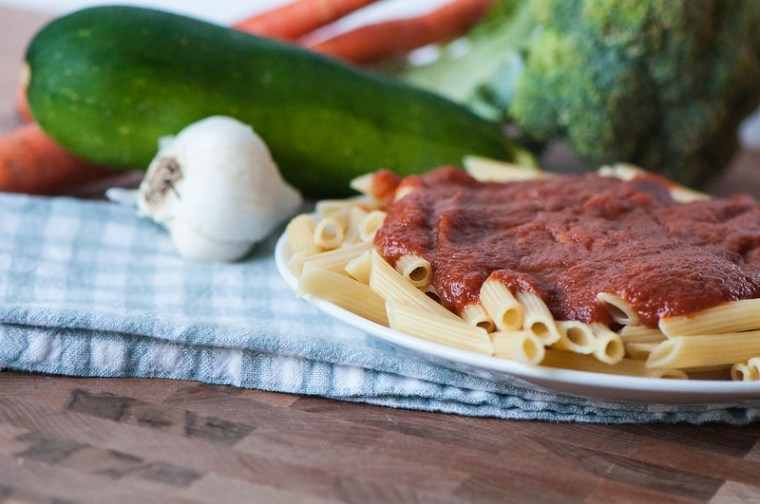 Slow Cooker Very Veggie Spaghetti