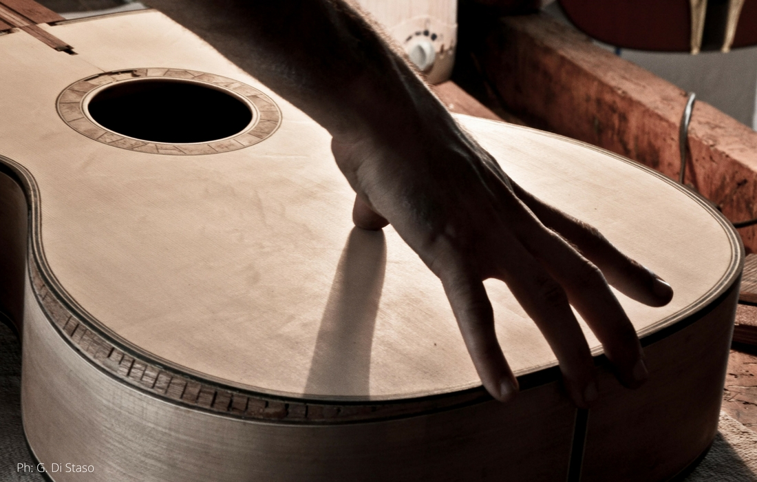 Luthier na Itália