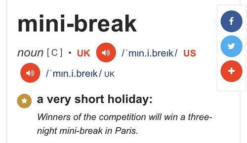 chemo mini break