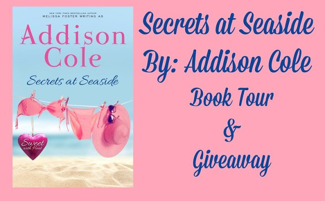 Secrets at Seaside by Addison Cole - Book Tour