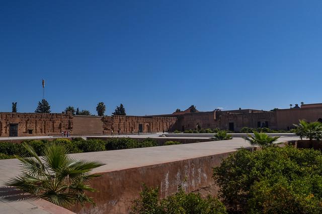 The gardens of El Badi