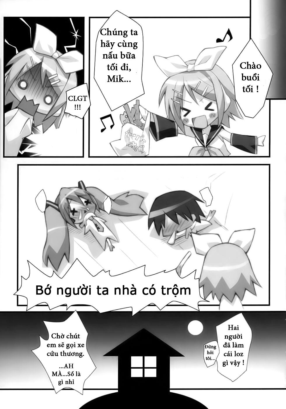 Hình ảnh  in Hentai Miku Mix Loli Doujinshi