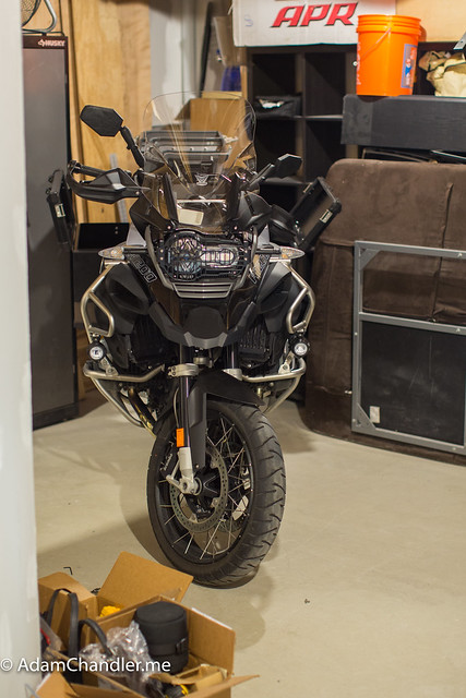 R1200 GS Advenure  Winter Mode