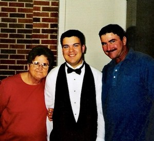Jason, his father, and his grandmother