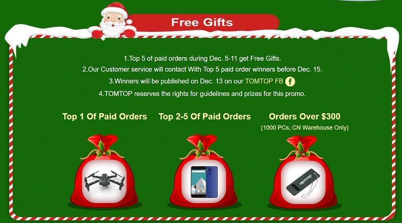 TOMTOP sale クリスマス (2)