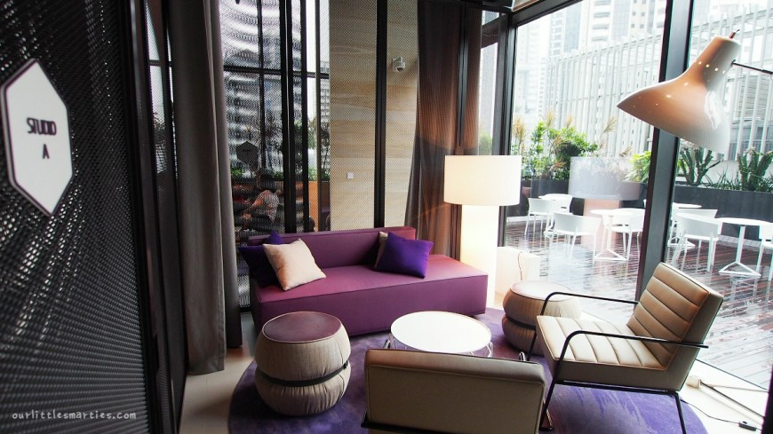 YOTEL Singapore Club Lounge
