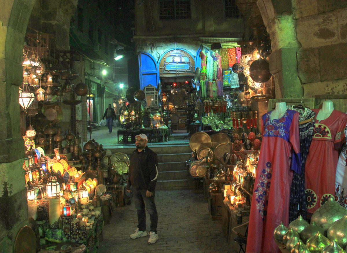 iconic chandeliers for sale at khan el khalili