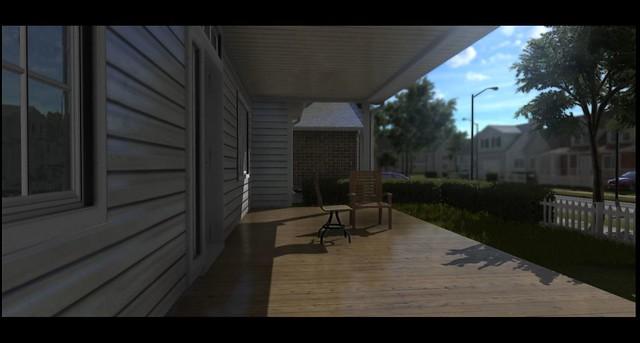 Fantasy Film Engine - 3D Veranda Render