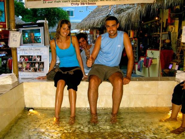 Peces en Camboya
