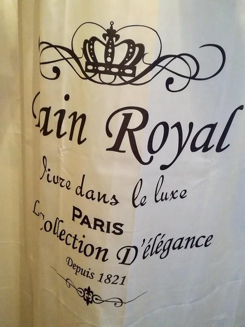Douchegordijn Bain Royal