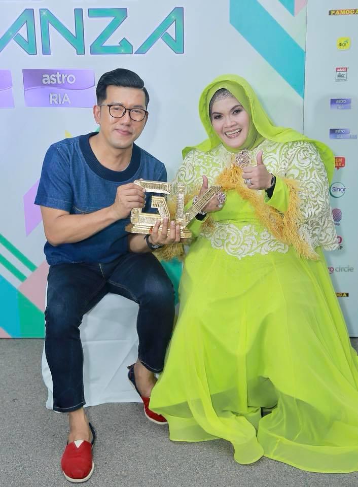Aishah Juara GEGAR VAGANZA 4