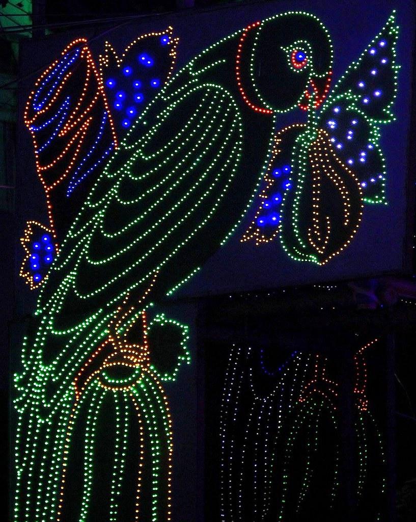 Lighting makes Calcutta pretty during Christmas