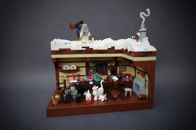 Gondor´s A Christmas Carol - Ghost of Christmas Present - Part 4 (MOC Series)