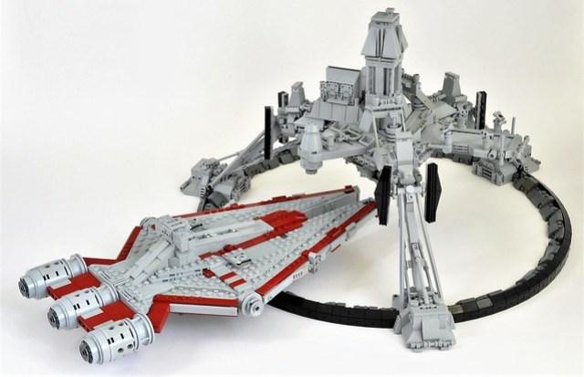 Star Wars Ring Worlds : The Clone Wars