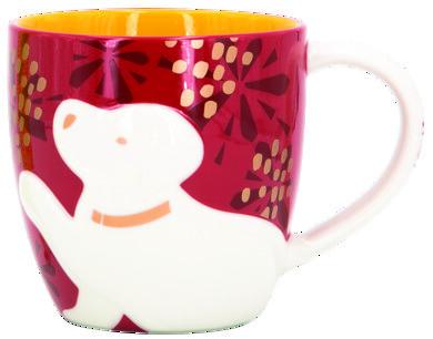 Starbucks Zodiac Dog Mug