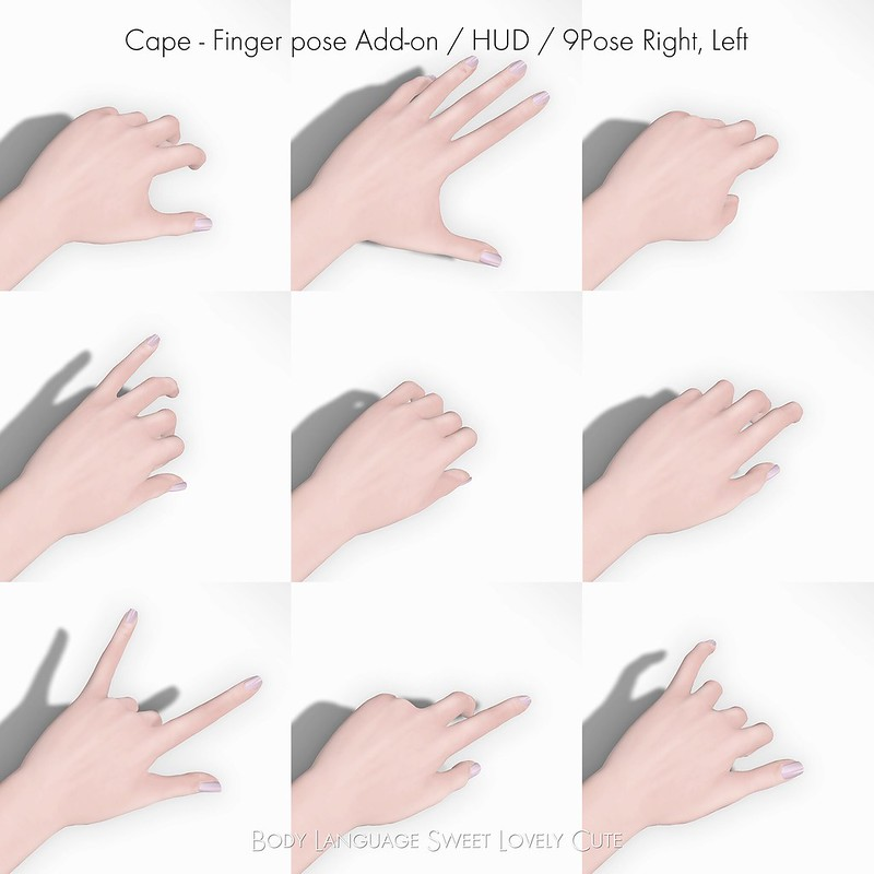 Bento SS POSE Cape Finger Add-on