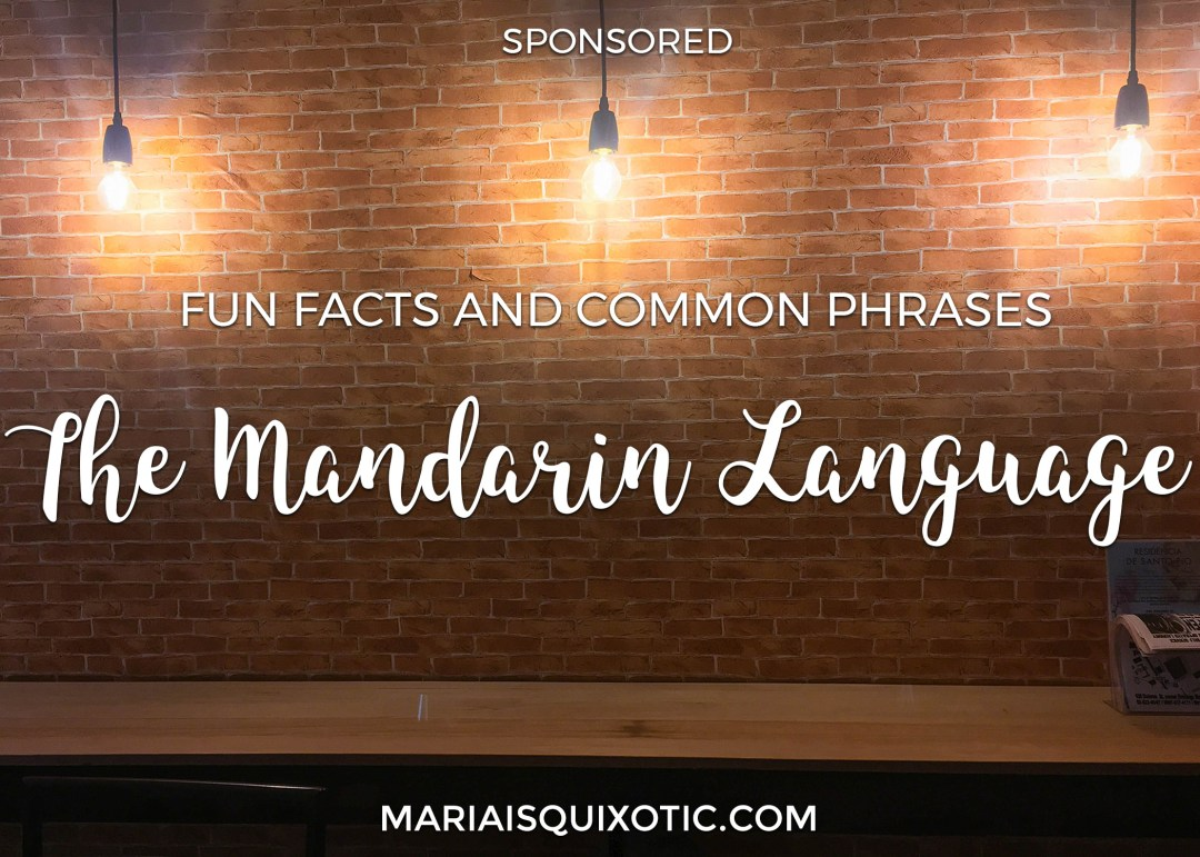 The Mandarin Language