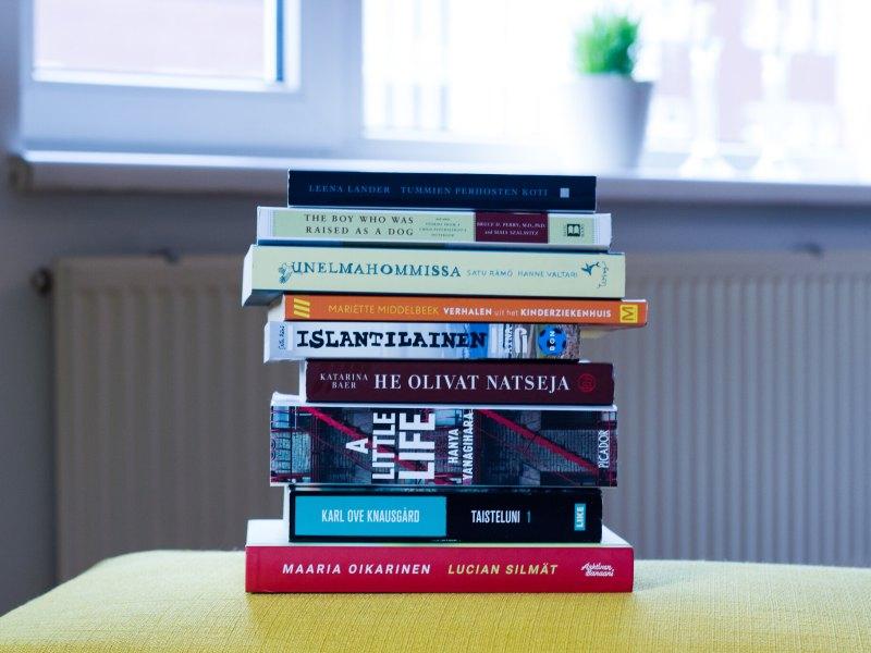 vuoden 2017 kirjasaldo 2