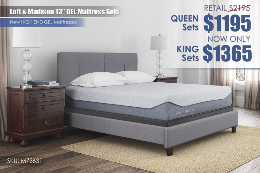 Loft & Madison GEL Mattress Update_M73631