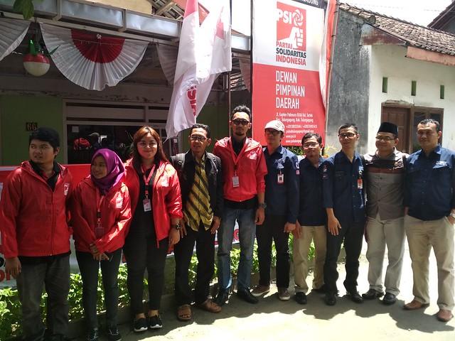 KPU Tulungagung melakukan verifikasi faktual kepada Partai Solidaritas Indonesia (PSI), kemarin (23/12)