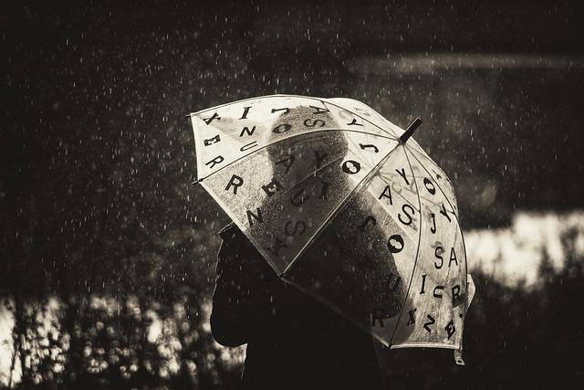 Alphabet Umbrella