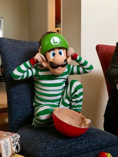 Luigi mask!