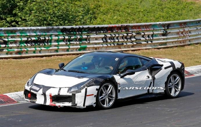 Ferrari-488-GTO-Spy-Shot-2