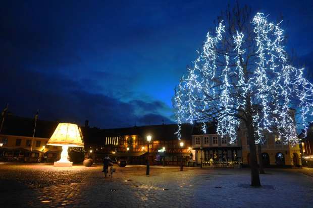Malmö - Lilla torg holiday decorations