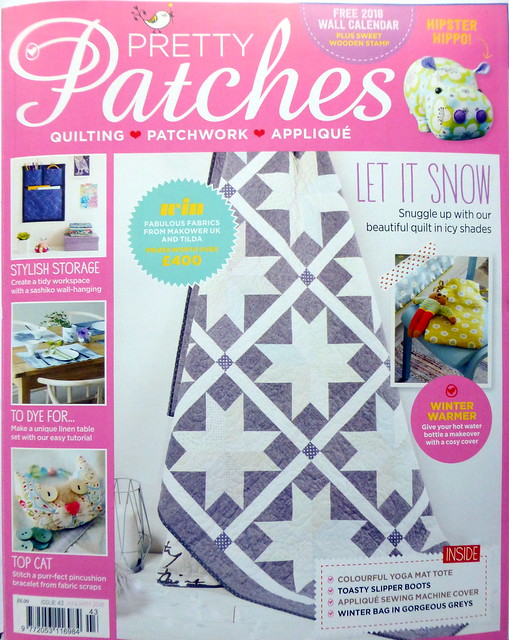 Snow Stars Quilt (Pretty Patches Jan18)