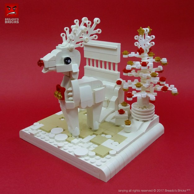 Im Dreaming Of A White Reindeer Instructions The Brothers Brick