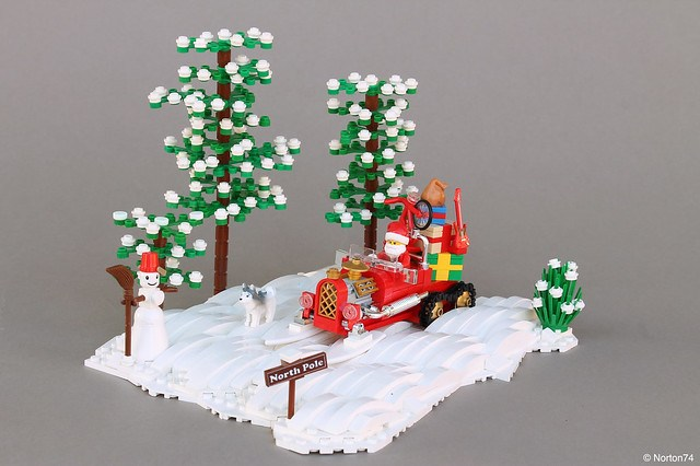 Noel - Santa's Hot Rod Sleigh