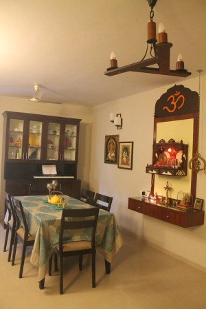 pooja kitchen designs wall mandir interior puja indian mounted cabinet hall india rooms living side cupboard decor painting ghar apartments
