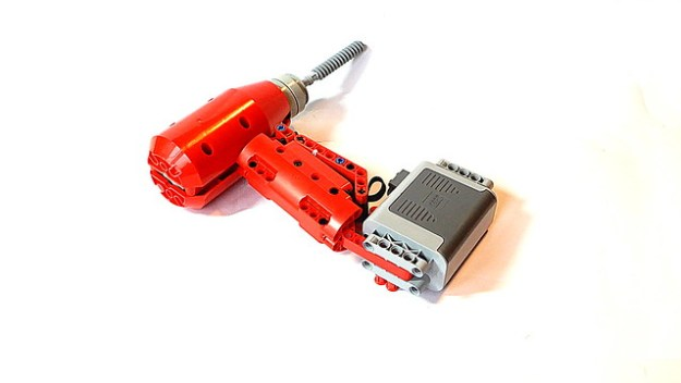 Lego Technic Cordless Drill (with Power Functions motor)
