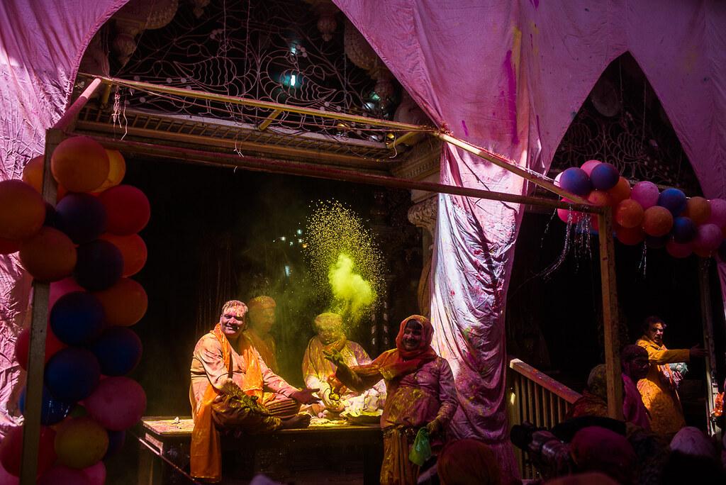 Holi Festival Mathura Barsana Nandgaon Brindavan