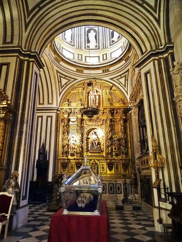 Catedral de Burgos Capilla de San Enrique Retablo
