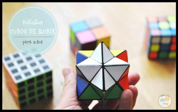 Distintos cubos de Rubik