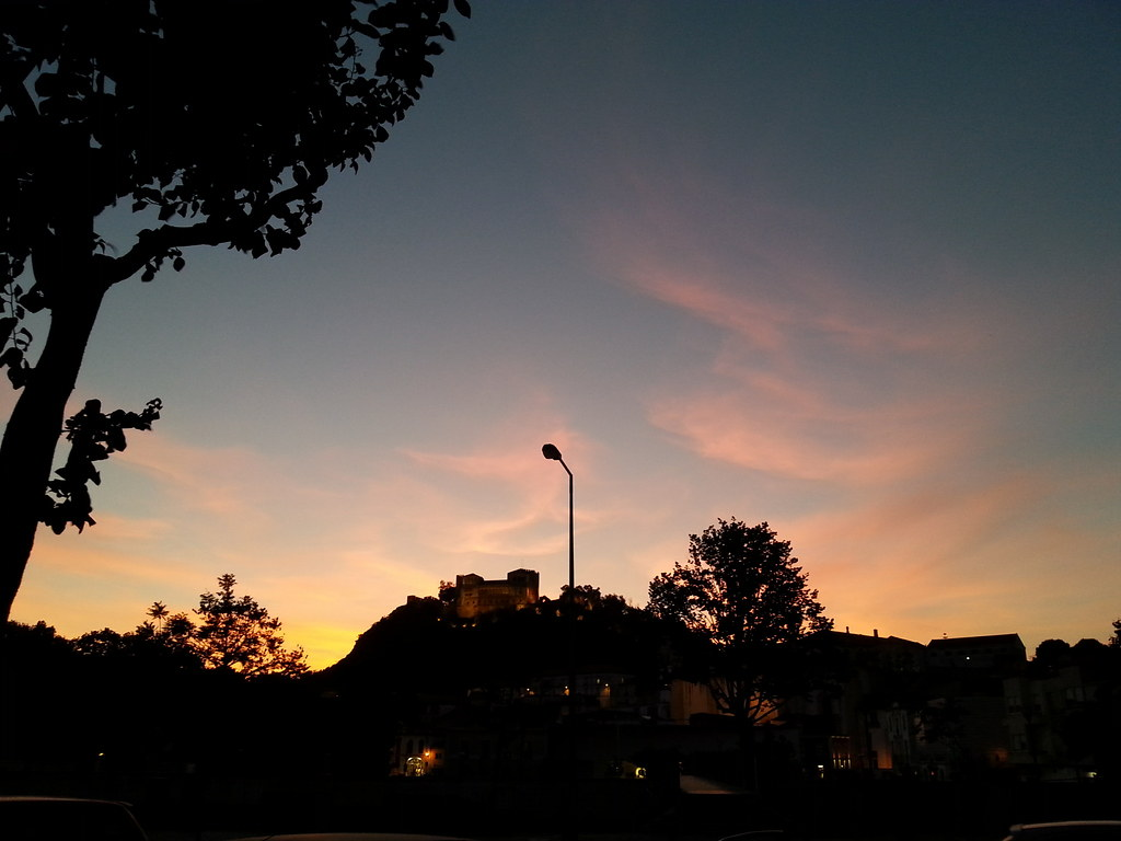 sunset in leiria 1