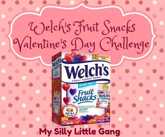 Welch's Fruit Snacks Valentine's Day Challenge