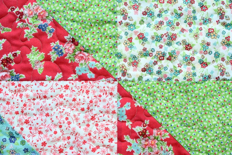 Katie Jane Quilt (Pretty Patches March18)