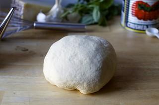 hand-kneaded dough