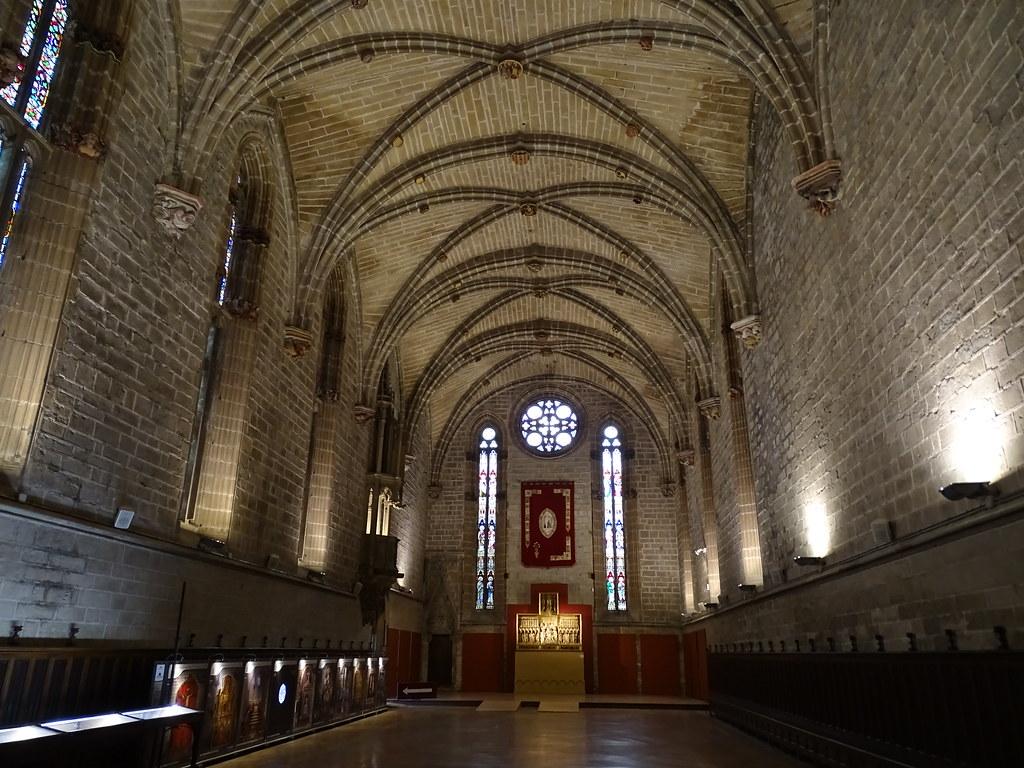 Refectorio nave del comedor Catedral de Santa Maria La Real Pamplona 01