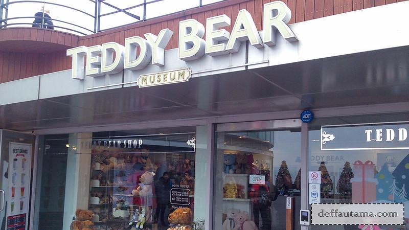 5 hari di Seoul - Teddy Bear Museum