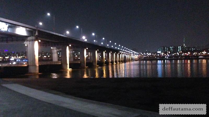 5 hari di Seoul - Banpo Rainbow Bridge