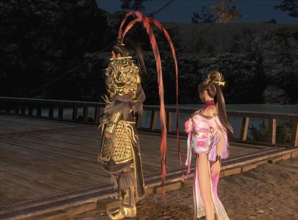 Dynasty Warriors 9 - Diaochan Side Upskirt